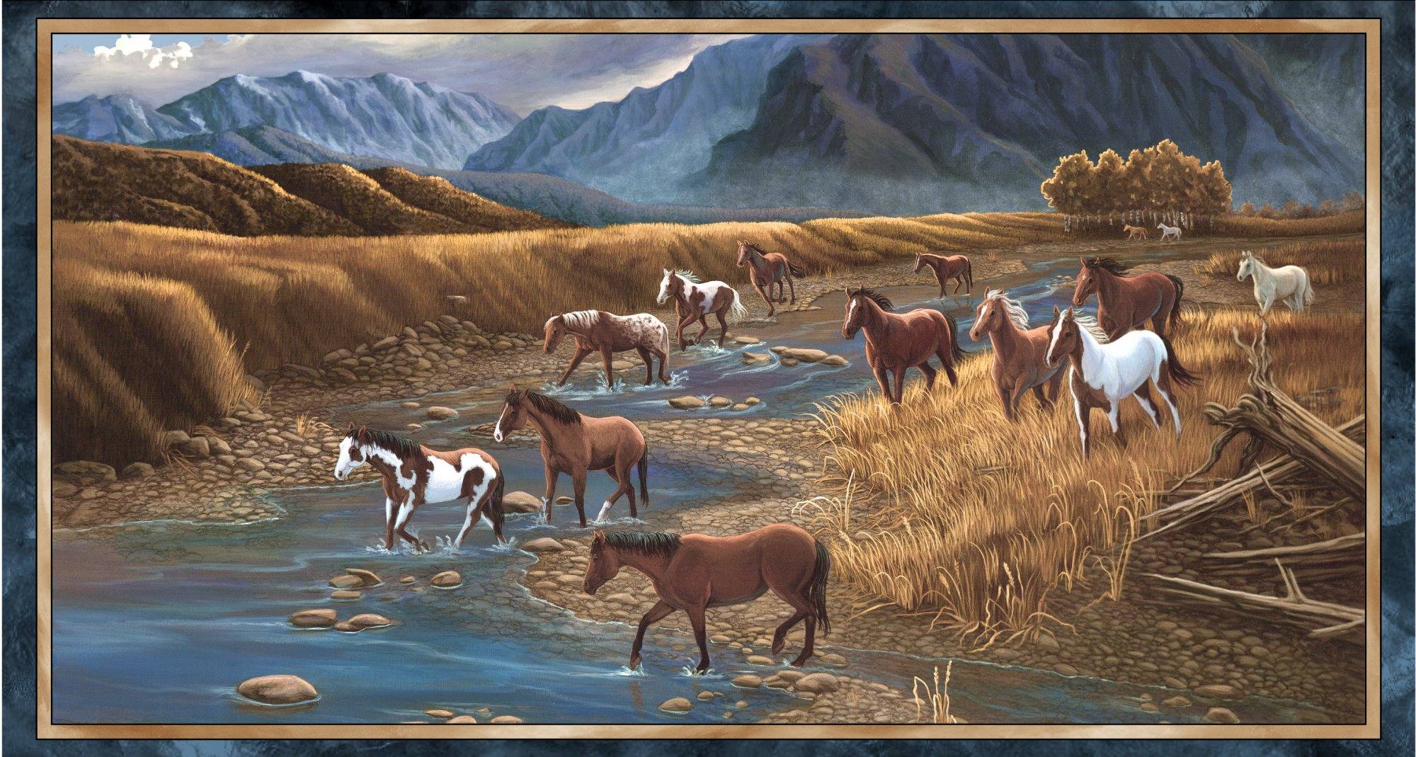 Sundance - Mountain Horse Panel (24) - Multi