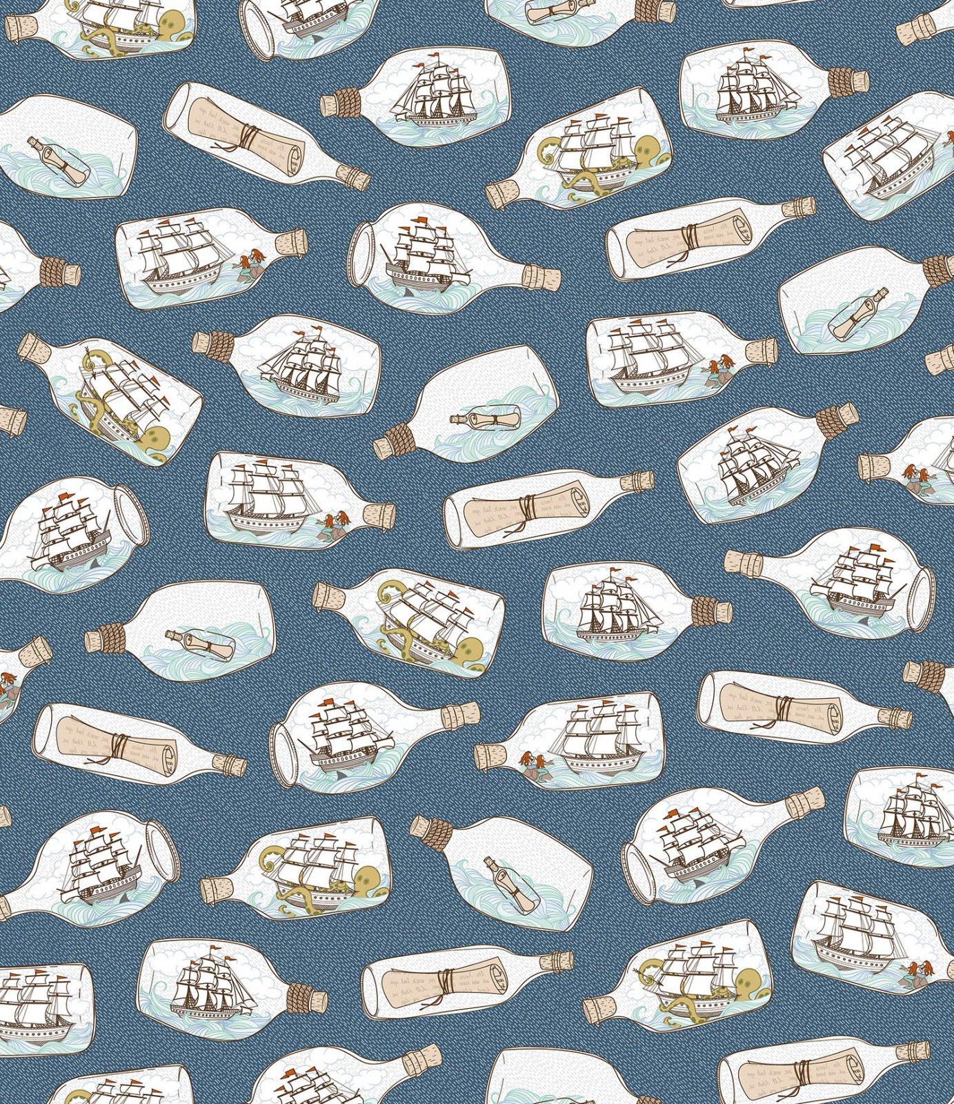 In Deep Ship - Ships in Bottles - Ocean