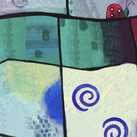 Painterly Garden - Painterly Patch - Multi