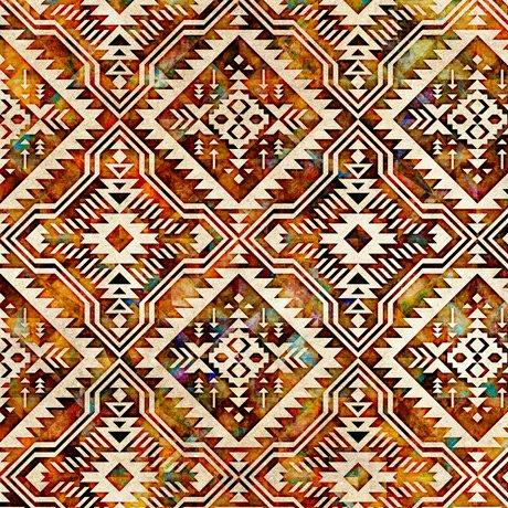 Southwest Reflection - Blanket - Cream