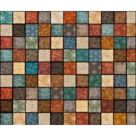 Sew Lovely - Decorative Square Patchwork - Multi