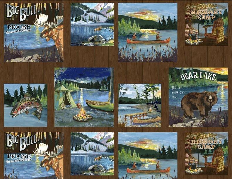 Pre-Order - Lake Adventure - Craft Panel - Multi