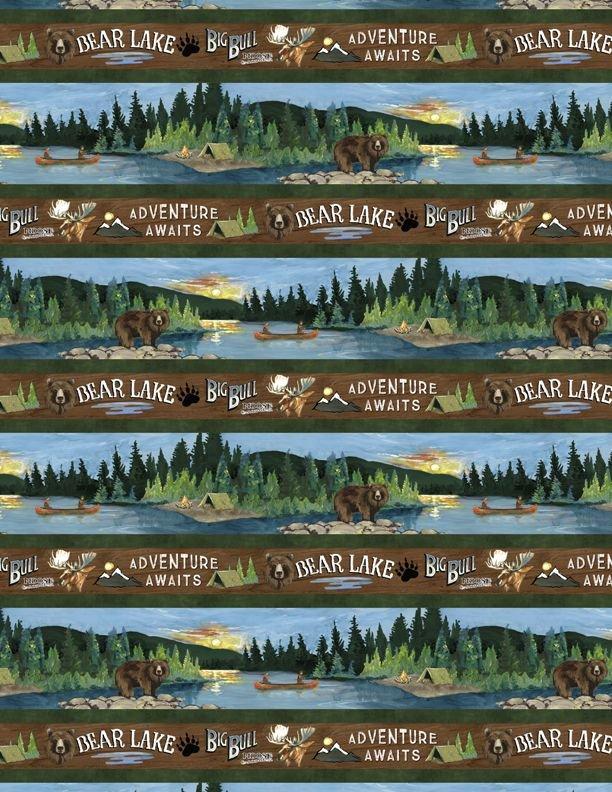 Pre-Order - Lake Adventure - Repeating Strip - Multi