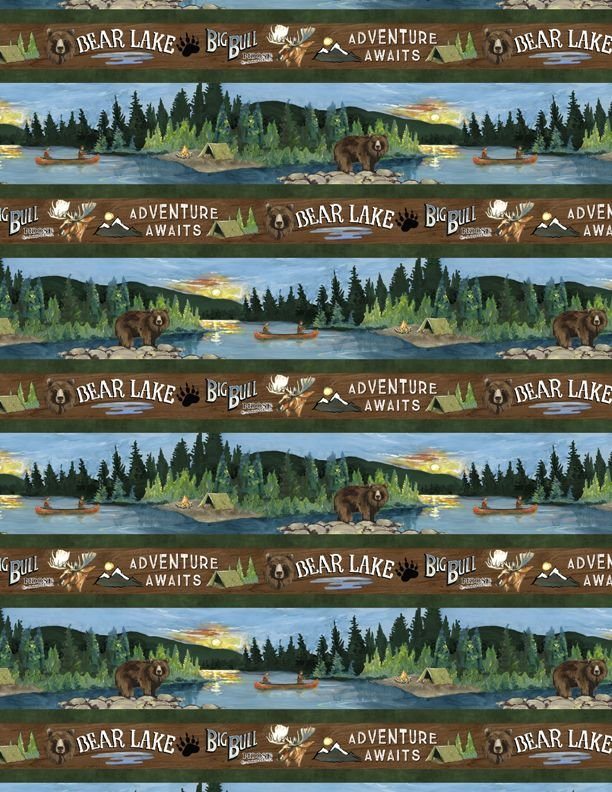 Pre-Order - Lake Adventure One-Yard Bundle - 19 Pieces