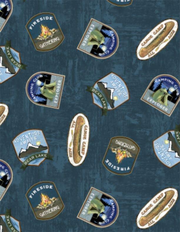 Pre-Order - Lake Adventure - Badge Toss - Blue