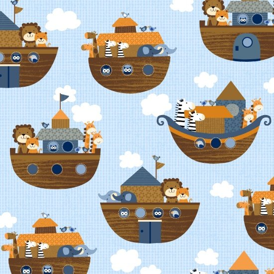 Noah's Story - Noah's Boat - blue