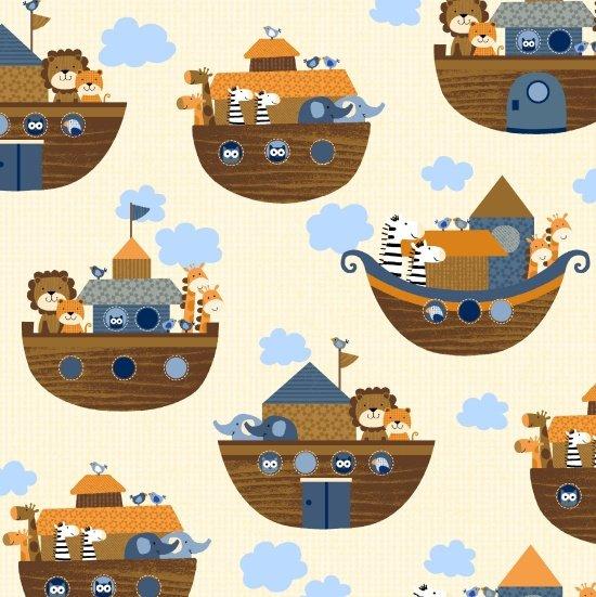Noah's Story - Noah's Boat - cream