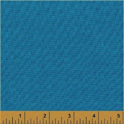 EOB - 1 yard - Artisan Cotton - Aqua Blue