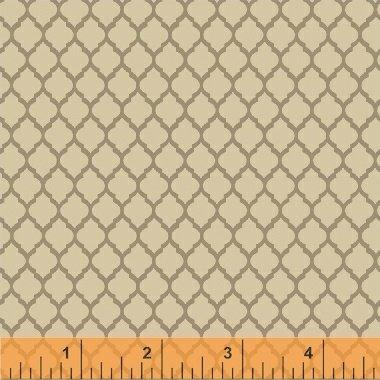 Elm Cottage by L'Atelier Perdu for Windham Fabrics - Khaki Tile