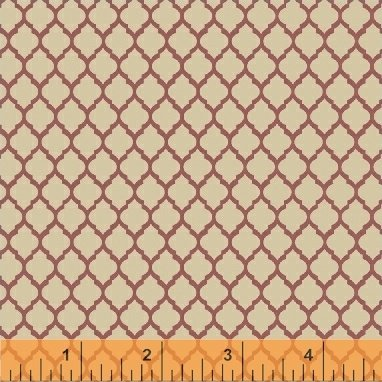 Elm Cottage by L'Atelier Perdu for Windham Fabrics - Red Tile