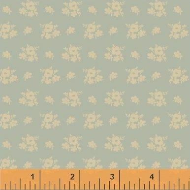 Elm Cottage by L'Atelier Perdu for Windham Fabrics - Blue Floral Cluster
