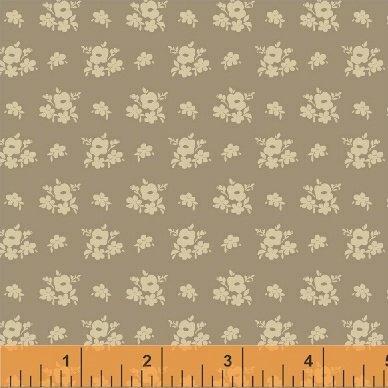 Elm Cottage by L'Atelier Perdu for Windham Fabrics - Khaki Floral Cluster