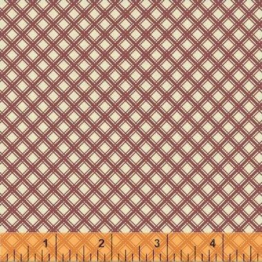 Elm Cottage by L'Atelier Perdu for Windham Fabrics - Red Diamond Plaid