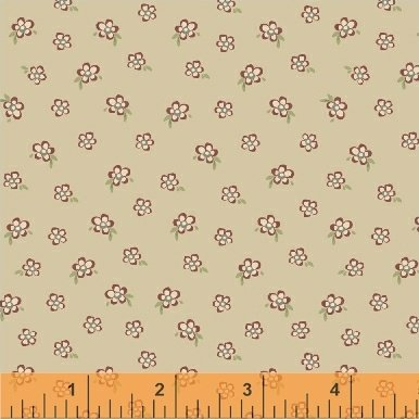 Elm Cottage by L'Atelier Perdu for Windham Fabrics - Red Mini Floral