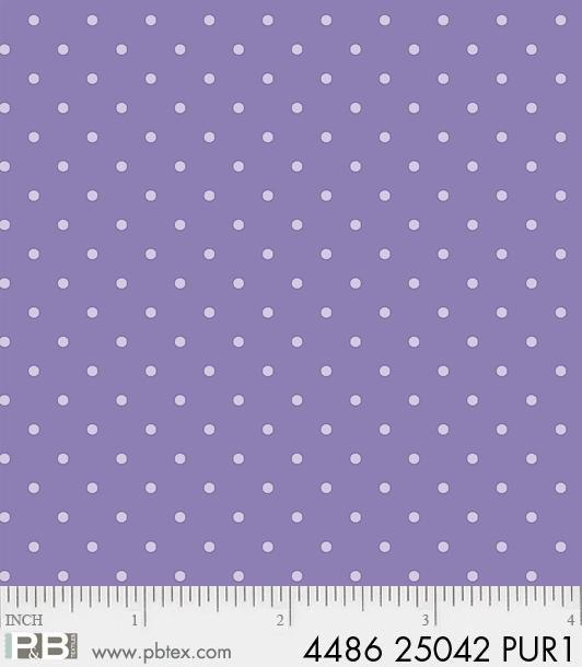 Basically Hugs by Helen Stubbings: Dots - Purple