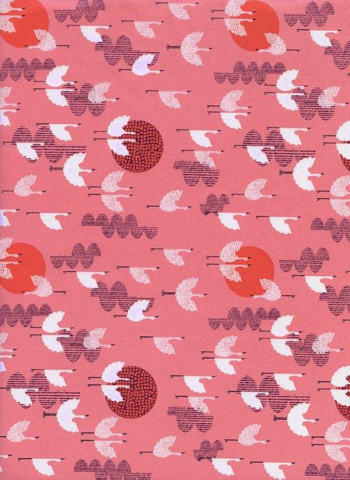 Lawnquilt - #Lawnquilt - Cranes - Dusk