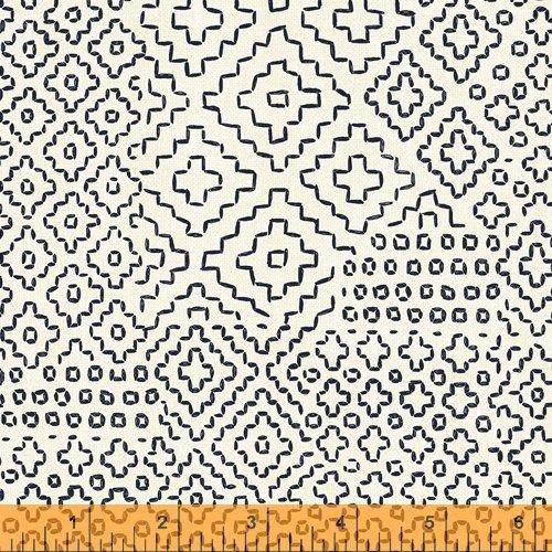 Sashiko - Stitch Sampler - Ivory