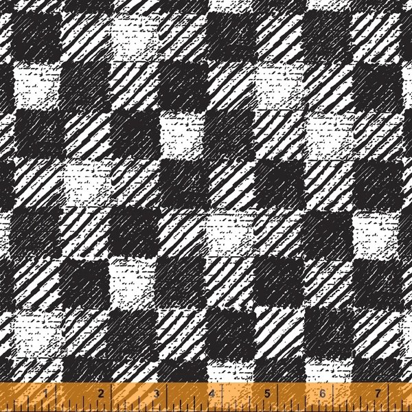 Pre-Order - Merry and Mod - Plaid Blanket - Coal