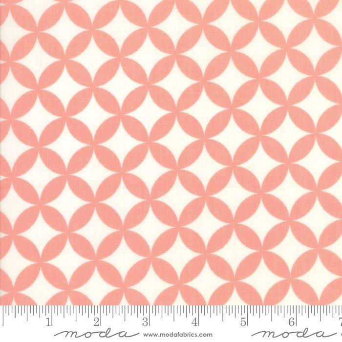 EOB - 1 3/8 yards - Basic Hello Darling - Pink