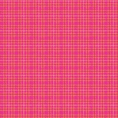 Warp & Weft - Multi Plaid - Hot Pink
