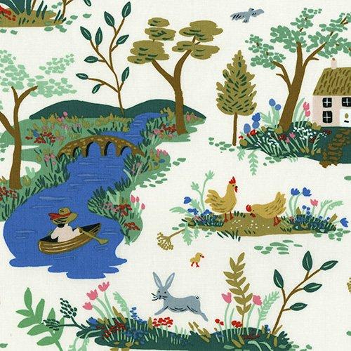English Garden - Garden Toile - Cream