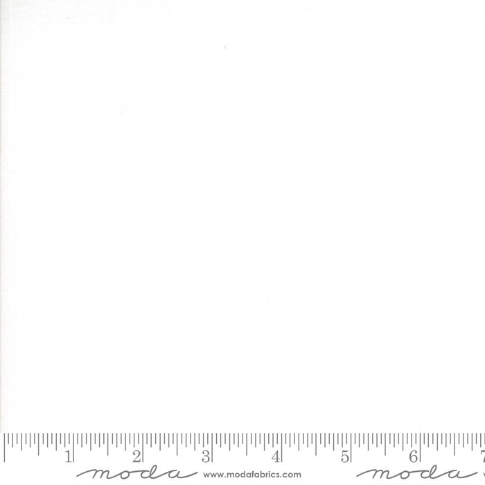 EOB - 1 yard 32 - Bella Solids - Bleached White - 98