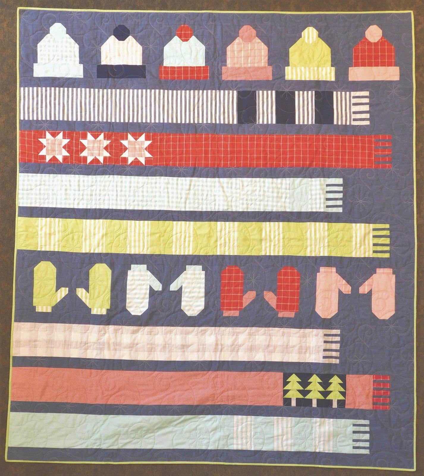 All Bundled Up Quilt Kit 72 x 82