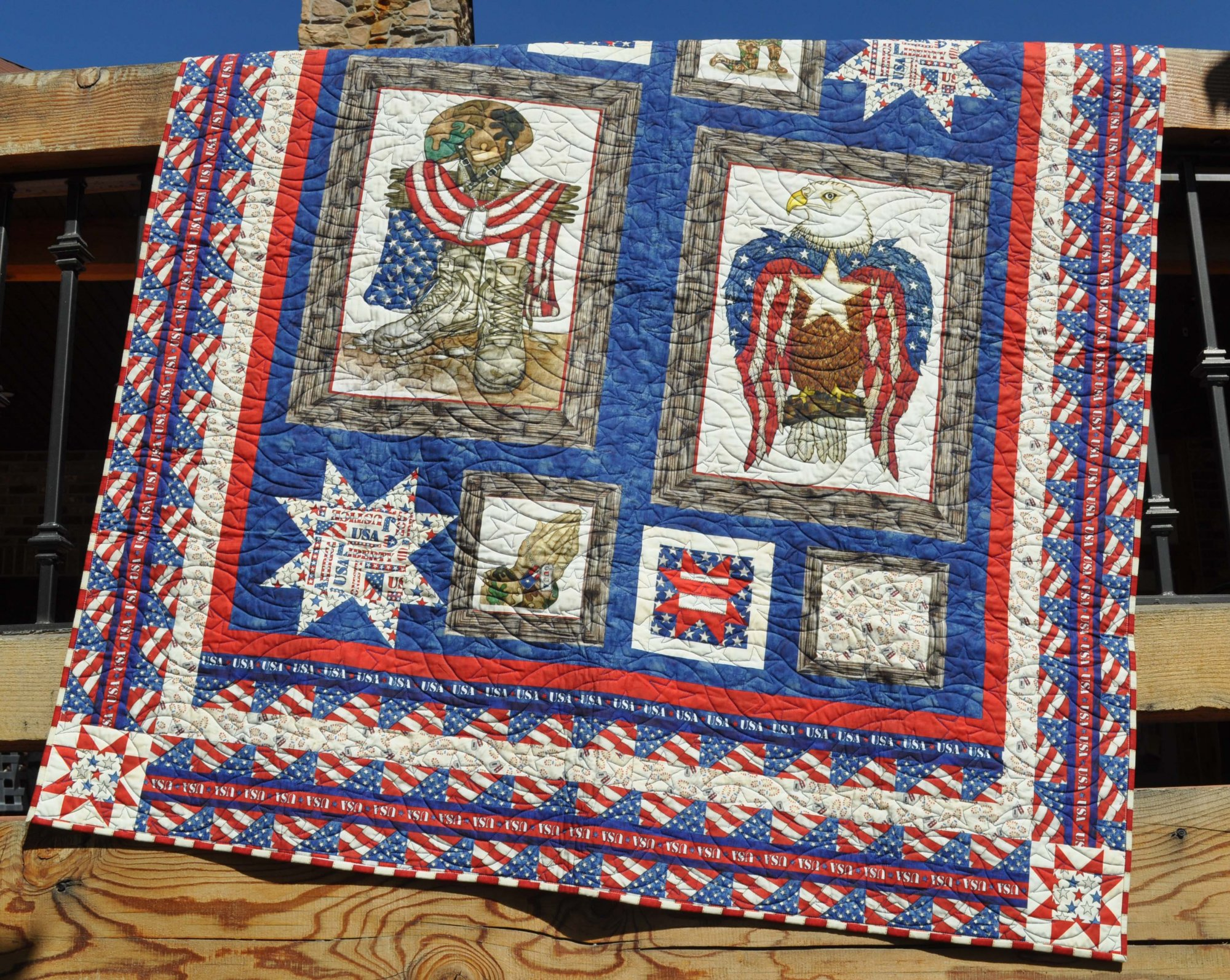 American Honor Quilt - 55 x 64