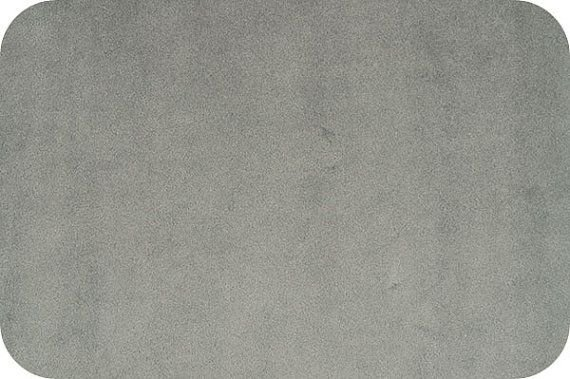 EOB - 1 yard 7 - Solid Cuddle Fabric by Shannon - 90 Wide - Charcoal