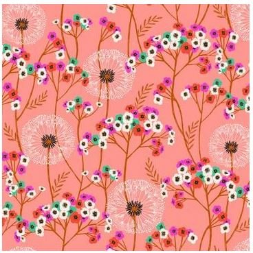 Aviary - Meadow Florals - pink