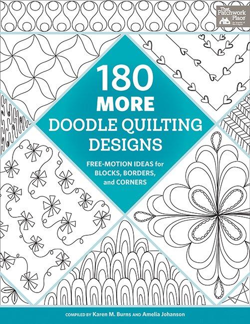 180 Doodle Quilting Designs by Karen M. Burns