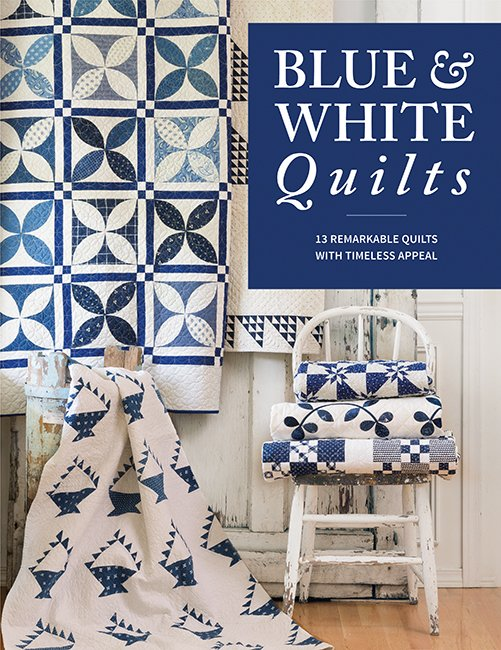 Blue & White Quilt Pattern Book