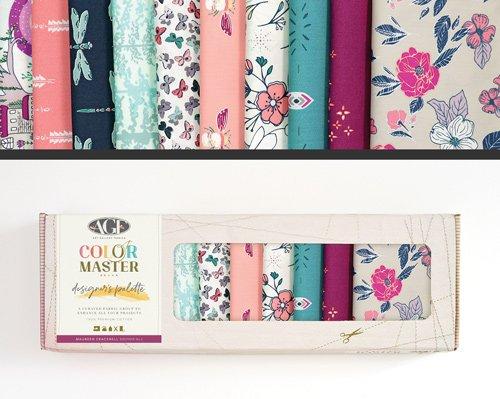 Maureen Cracknell Designer Palette  Edition 1 - Fat Quarter Bundle - 10 Pieces