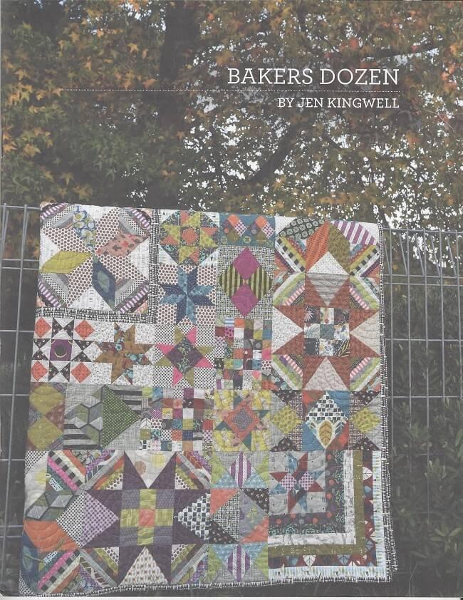 Bakers Dozen Pattern Book by Jen Kingwell Designs