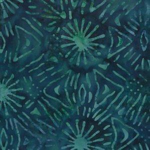 Batavian Batiks  Q1400 22060 947 Turq Leaves