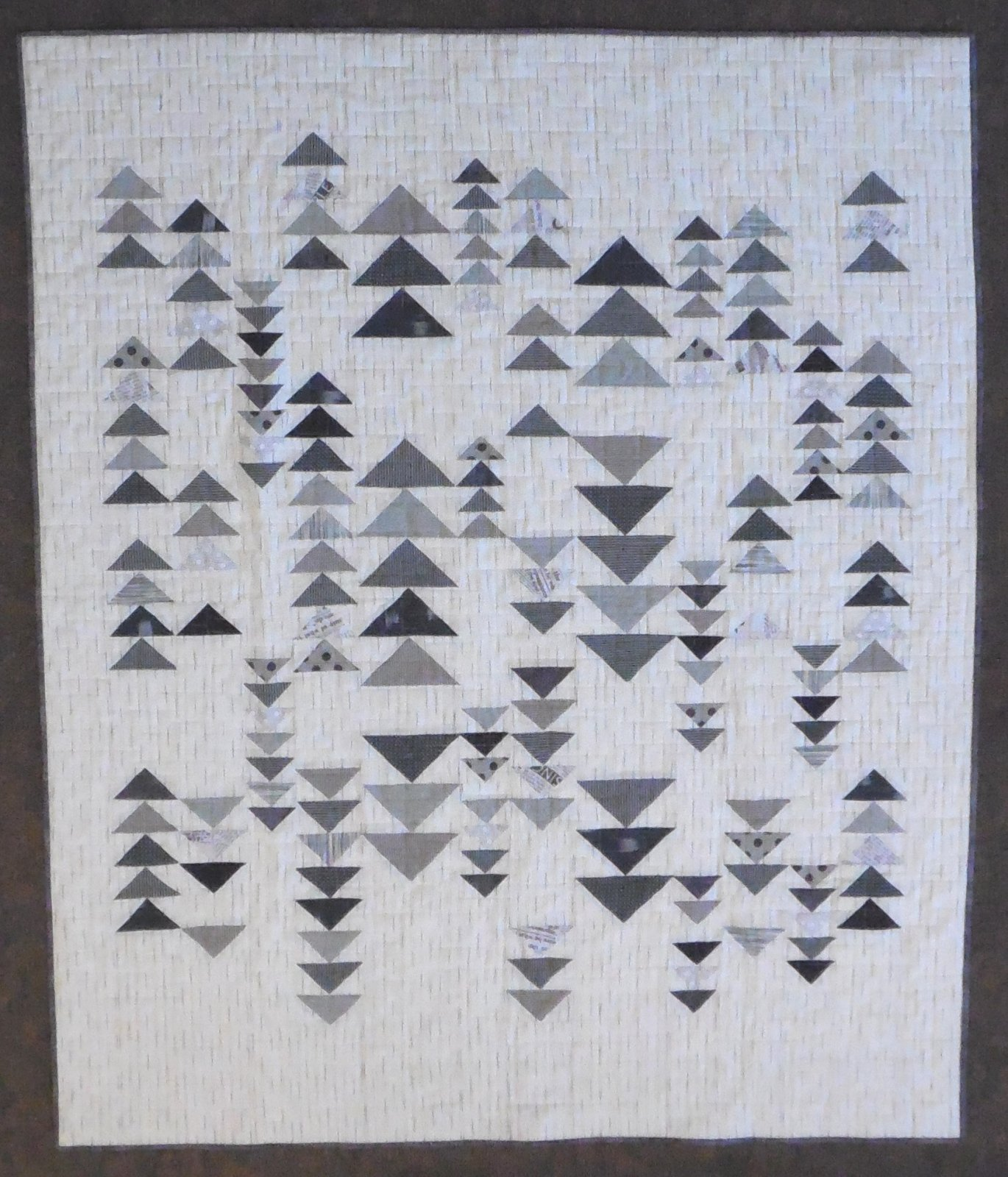 Boro Wovens Foundations Quilt 56 x 68