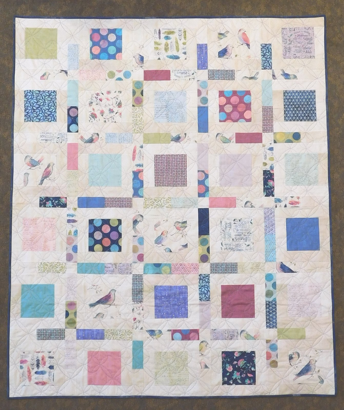 Boxed Up Quilt Kit 58 x 70