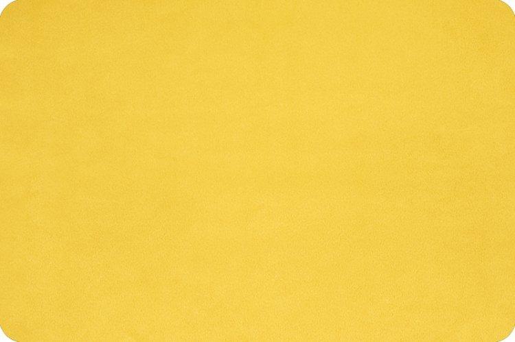 EOB - 1 yard 8 - Solid Cuddle Fabric by Shannon - 90 Wide - Sunshine