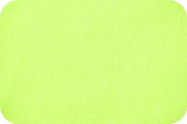 EOB - 1 yard - Solid Cuddle Fabric by Shannon - 60 Wide - Dk Lime