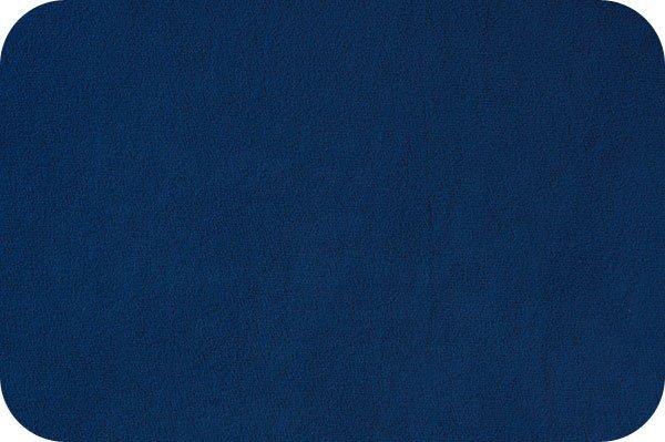 EOB - 1 yard - Solid Cuddle Fabric by Shannon - 60 Wide - Midnight Blue