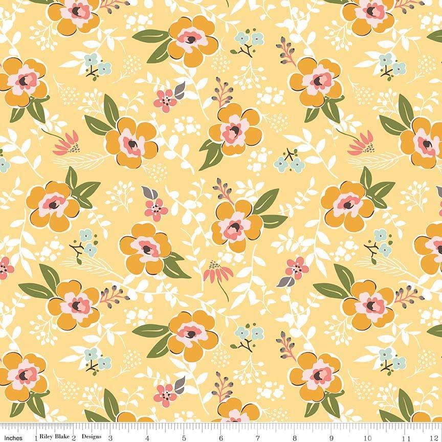 EOB - 1 1/3 Yard - Sweet Prairie - Main - Yellow