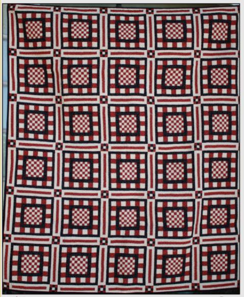 California 49er Quilt Pattern - 50 x 60