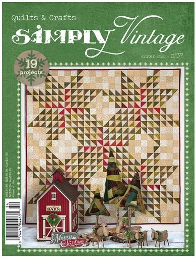 Simply Vintage Quilts & Crafts Magazine - Winter 2020 - Number 37