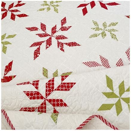 Peppermint Twist Quilt Pattern - 71 1/2 square
