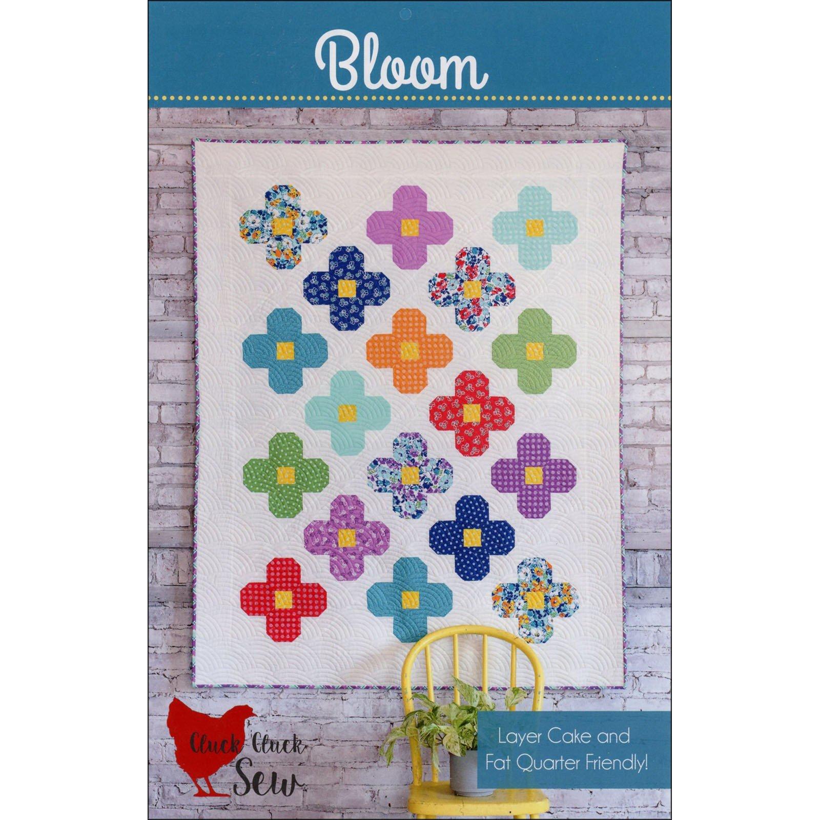 Bloom - Quilt Pattern - 53 x 68