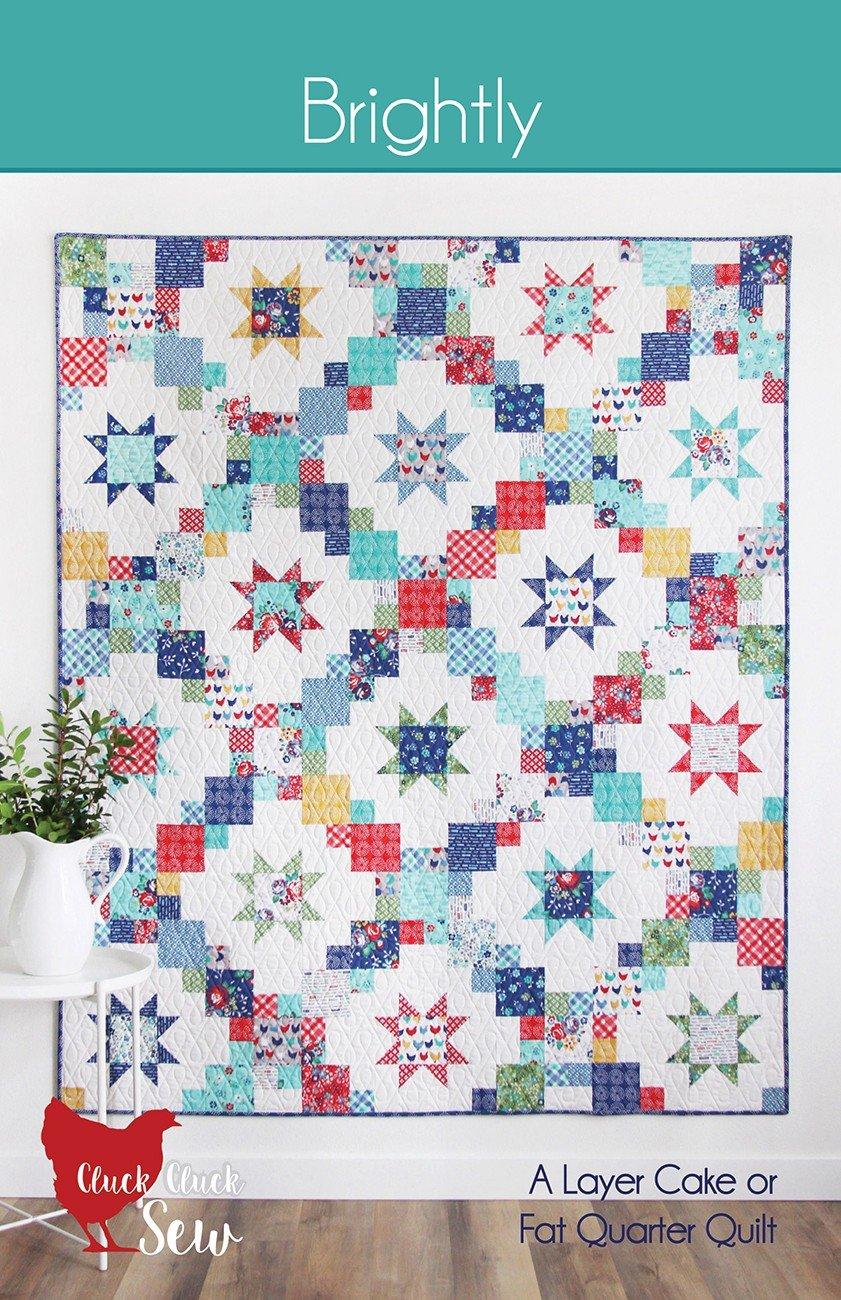 Brightly Quilt Pattern - 60 x 68