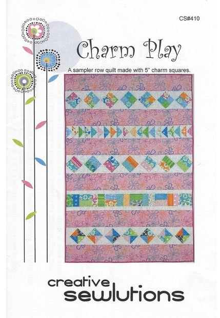 Charm Play Quilt Pattern - 40 x 60