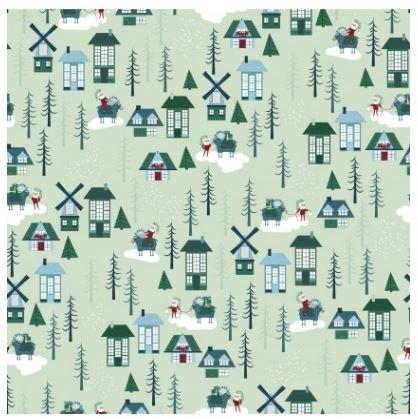 Yuletide - Gnome Homes - Light Mint