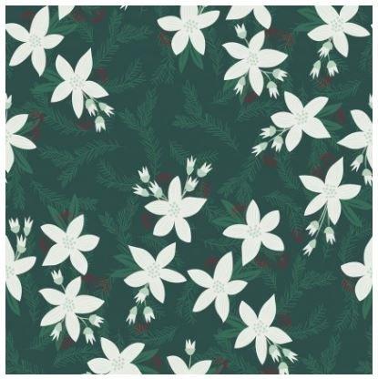 Yuletide - Poinsettia - Dark Forest