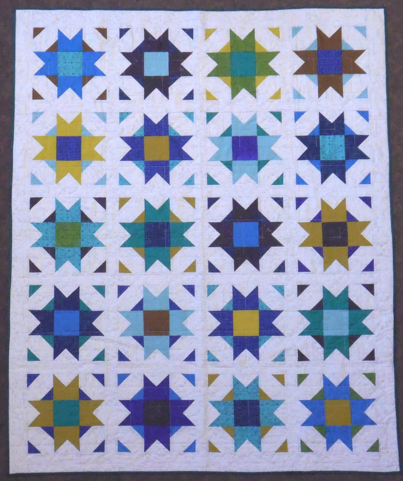 Compass Star Quilt Kit 60 x 74